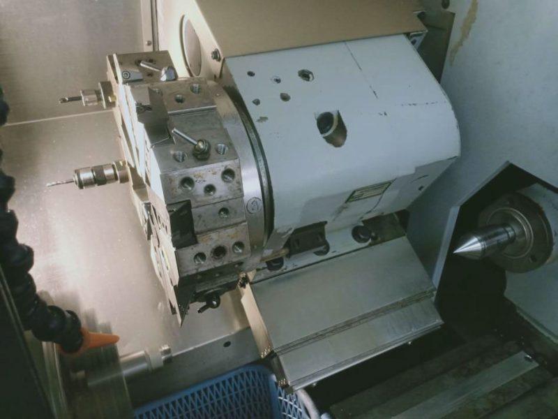 กระบวนการทำงานของเครื่องกลึง CNC